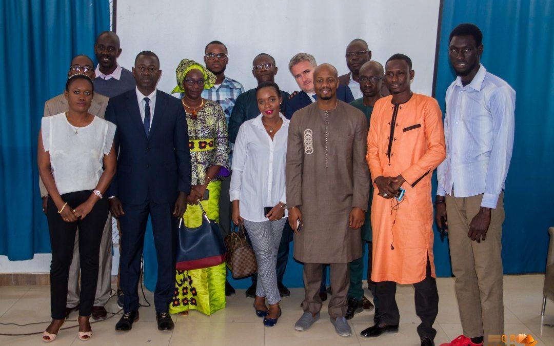 On parle #LocalContent avec les étudiants d'IAM Dakar, avec OrNoirAfrica.